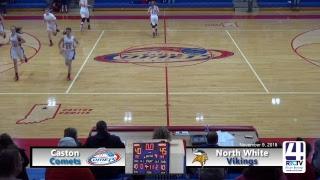 Caston Girls Varsity Basketball vs North White