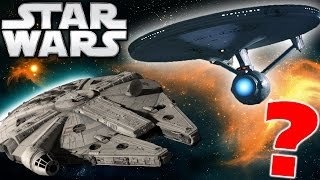 Is The Millennium Falcon Faster than the USS Enterprise? - Star Wars Explained