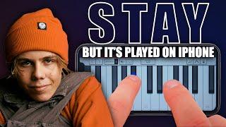 STAY - Kid Laroi ft. Justin Bieber (GarageBand Cover)