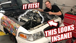 Burnout Patrol EP.2 - The GT500 Engine BARELY Fits! (Supercharger Is So Tall)