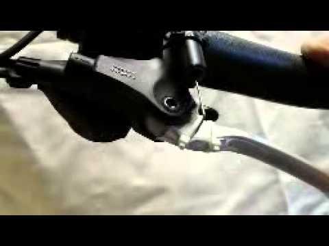 Remsensor op hydraulische rem