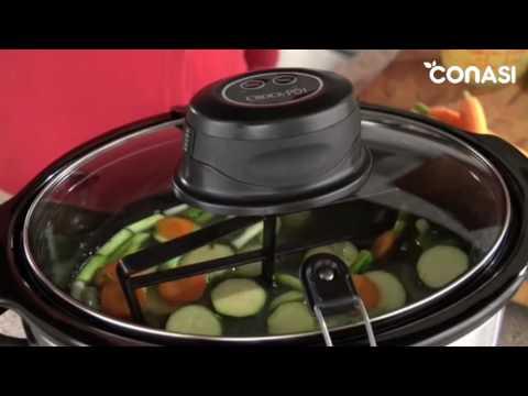 Olla de cocción lenta Crock Pot, de 5,7 l - Autostir Digital