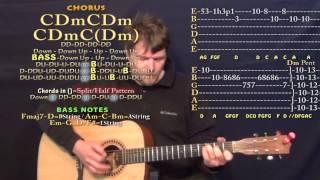 Boiling Pot (J.J. Cale) Guitar Lesson Chord Chart