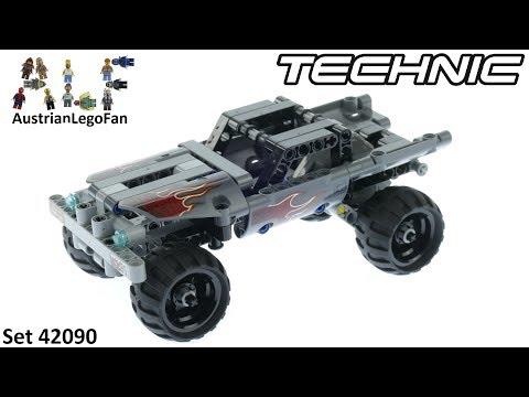 Vidéo LEGO Technic 42090 : Le pick-up d'évasion