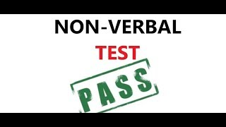 HOW TO CLEAR NON-VERBAL TEST 100% HELPFUL TIPS AND TRICKS MUST WATCH!!