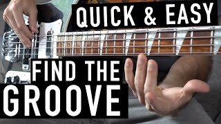 How to Groove a Bass Line