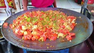 Pav Bhaji Preparation for 50 Kids || Mahesh Pav Bhaji Restaurant || 1 kg Butter|| Street Food  India