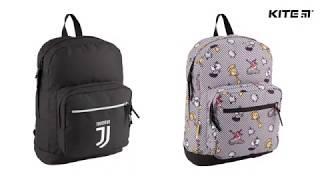 """Рюкзак Kite Advanture time AT18-998L от компании Интернет-магазин """"Радуга"""" - школьные рюкзаки, канцтовары, творчество - видео"""