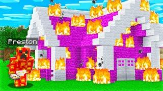 So I Raised Baby Preston in Minecraft...