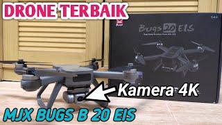 REVIEW DRONE MURAH KAMERA TERBAIK || MJX BUGS B20 EIS