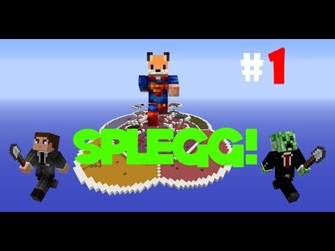 SHUT THE F*** UP! - Minecraft: Splegg/Spleef Episode 1