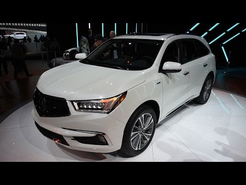 2017 Acura MDX First Look - 2016 New York Auto Show