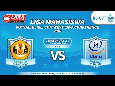 UNPAD VS UTAMA   LIMA FUTSAL : BLIBLI.COM WEST JAVA CONFERENCE 2018