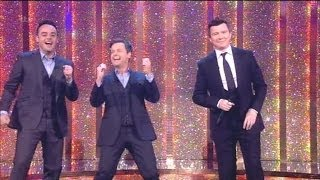 'Rick Astley' Singing Never Gonna Give You Up With The Audience Saturday Night Takeaway 2014