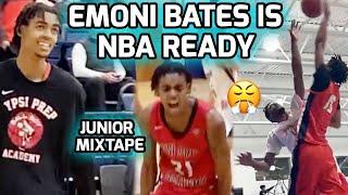 "#1 RANKED Emoni Bates Is NBA READY! 6'9"" Michigan State Commit Dominates At NEW SCHOOL! Junior Mix🔥"