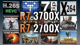 2700x vs 3700x ryzen - Thủ thuật máy tính - Chia sẽ kinh