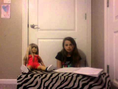american girl doll video