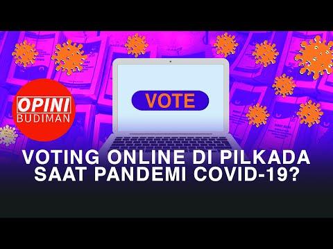 voting online di pilkada saat pandemi covid- opini budiman episode