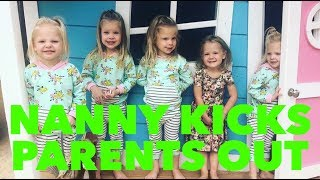 NANNY KICKS PARENTS OUT OF THE HOUSE AND IS LEFT WITH 8 KIDS