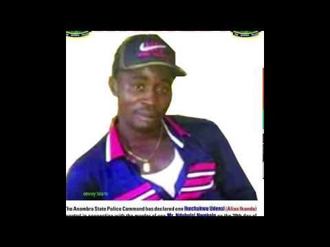End Of The Road For A Notorious Robber In Anambra State (Ikanda) Who Has Been A Pain For Onitsha