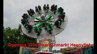 Opening van de Paardenmarkt met Kermis in Heenvliet 2019