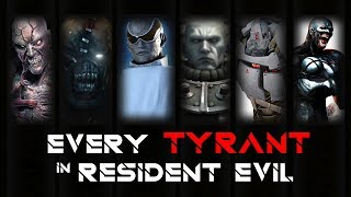 ALL TYPES/KINDS OF TYRANT | BOSS BATTLE in RESIDENT EVIL GAME