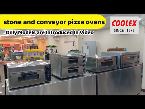 Double Deck Pizza Oven With Stone Base