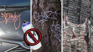 5 Things Graffiti Writers Dont Tag On