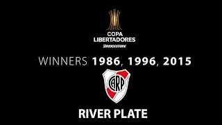 River Plate -  A brief history of River Plate in the Copa Libertadores