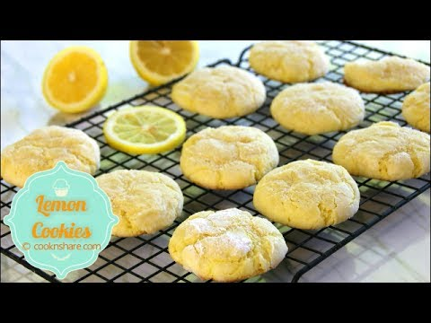 Soft Lemon Cookies – Melt in your mouth
