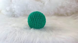 How to Make Easy Amigurumi Ball For Beginners