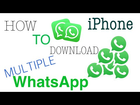 Download How To Download 2 Two Whatsapp In Iphone For Free