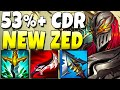 *78% R CD* New Zed Is B-B-BROKEN In Season 11.. what are these new items (115 Ability Haste) - LoL