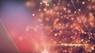 heart background animation, love background video, Wedding heart background, Title background effect