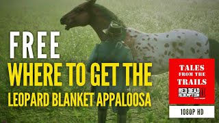 🗣 RDR2: Where To Find A Wild Leopard Blanket Appaloosa Horse - 1080p HD Red Dead Redemption 2