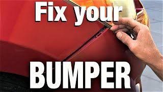How to Fix Your Bumper - The Easy Way
