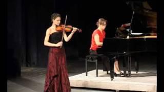 W. A. Mozart - Koncert No 5 za violinu i klavir A Dur Allegro aperto (by Nevena Rakić))