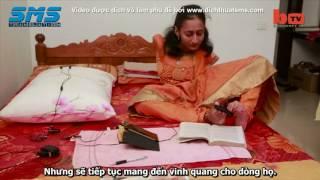 Nữ họa sĩ Ấn Độ không tay, vẽ tranh bằng chân (Dịch & phụ đề bởi Dịch Thuật SMS)