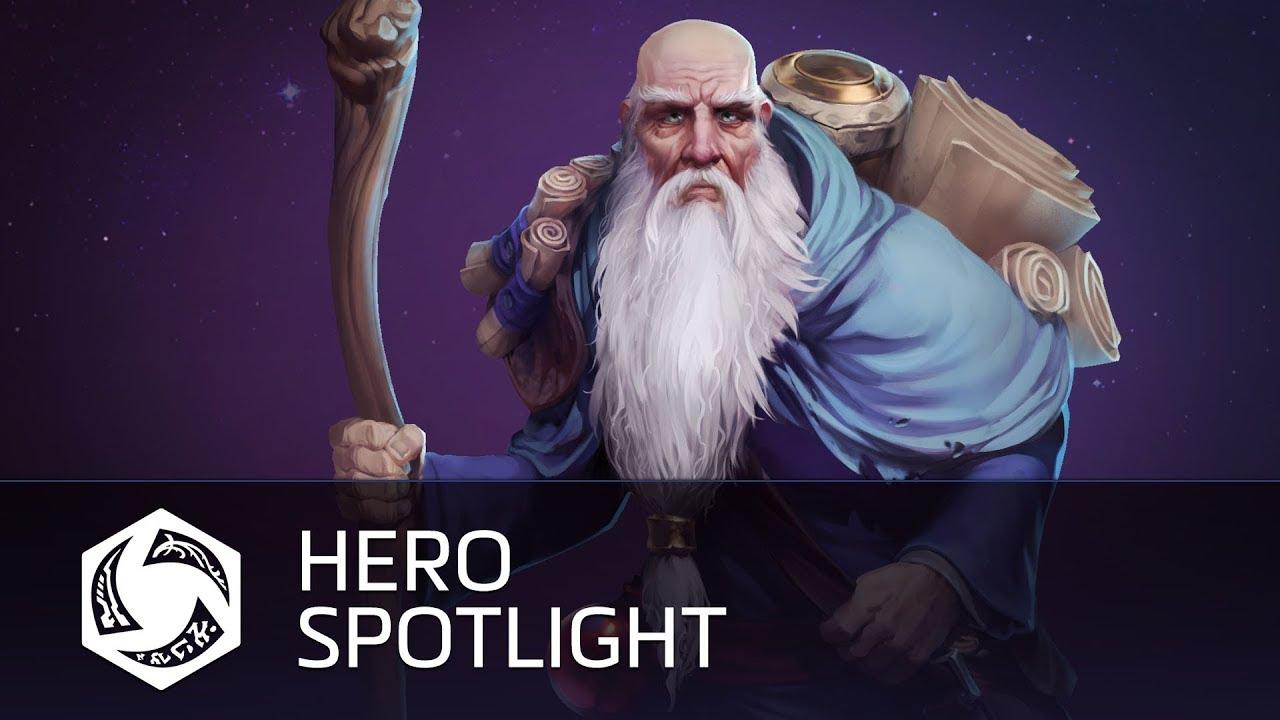 Deckard Cain е новия герой в Heroes of the Storm