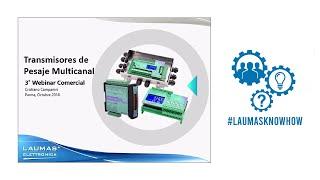 Webinar Técnico Comercial Transmisores de peso multicanal