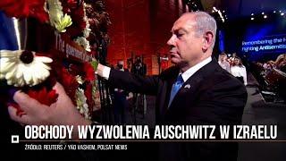 W Izraelu obchodzono 75. rocznicę wyzwolenia obozu Auschwitz-Birkenau
