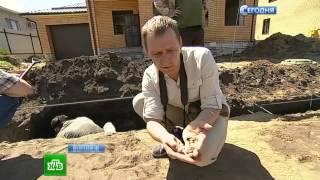 ВВоронеже рядом скоттеджами откопали кости иоружие гитлеровцев