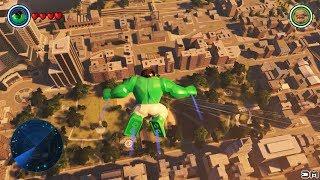 LEGO Marvel's Avengers Hulk Skydiving