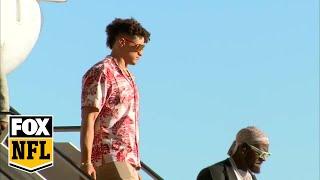 Kansas City Chiefs arrive in Miami for Super Bowl LIV   FOX NFL