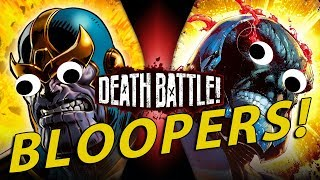 Thanos Vs Darkseid BLOOPERS!