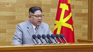 北朝鮮「2018金正恩新年辞2018김정은신년사」KCTV2018/01/01日本語字幕付き