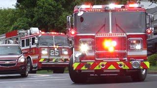 Fire Trucks Responding Compilation #15