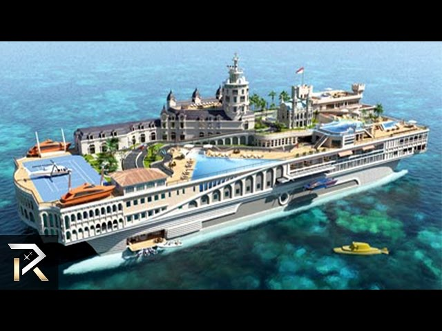 10 of the Biggest Boats In the World