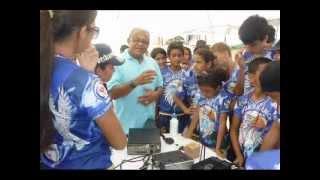 preview picture of video 'Radioamadores no Campori de Desbravadores   Manacapuru 2012'