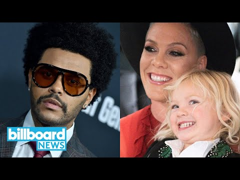 Pink on 3-Year-Old Son Testing Positive for COVID-19, The Weeknd Tops the Hot 100 | Billboard News